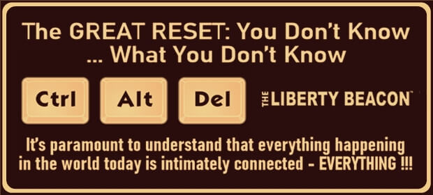 The GREAT RESET – You Don't Know What You Don't Know – FI 09 13 21-min