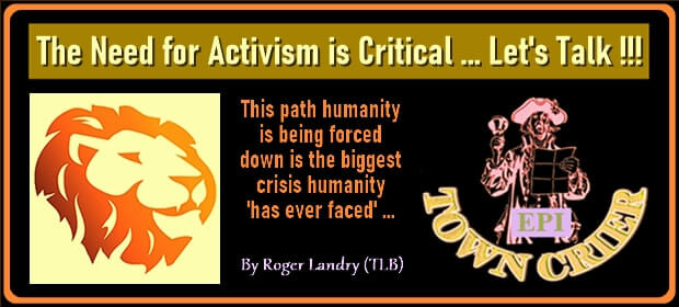 The Need for Activism is Critical – Lets Talk – 09 05 21-min