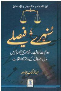 Sunehray Faislay By Abdul Malik Mujahid Pdf