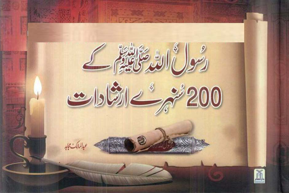 200 Sunehray Irshadat By Abdul Malik Mujahid Pdf