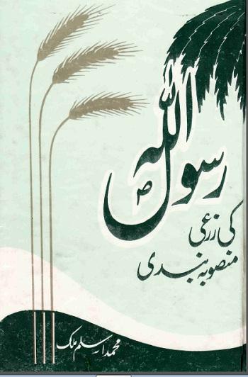Rasool Allah Ki Zarai Mansooba Bandi Pdf Download