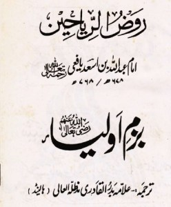 Bazm e Auliya By Allama Badar Ul Qadri Pdf Download