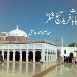 Baba Farid Ganj Shakar By Naseer Ahmad Jami Pdf