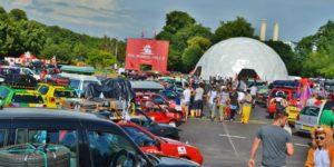 Launch party at Battersea Park