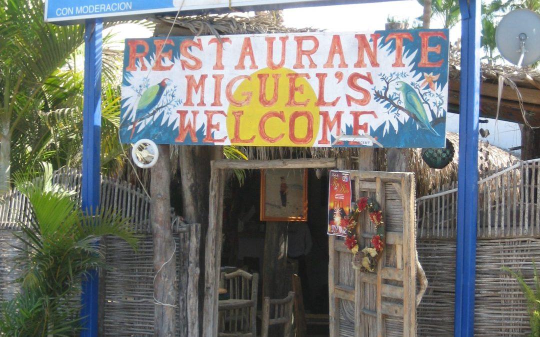 Miguels Chile Rellenos and other Mexican Fare … Todos Santos Baja Mexico