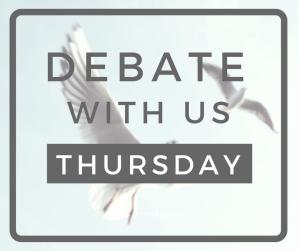 The Animal Edit - FB Post - Debate Thursday