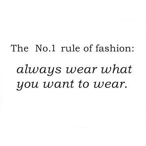 how to wear what you want