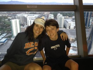 Laurie McDermott & Ty Dillman Stratosphere Thrill Ride