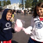 Cotton Candy at Disneyland