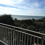 View from the Room at Hilton Head Marriott Grande Ocean