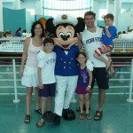 Is that DAD with Mickey? Where is his phone now?