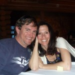 Laurie & Brad Dillman at Beano's Cabin