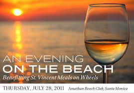 st vincent, an evening at the beach