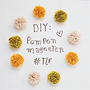 DIY pompon magneten