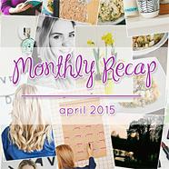 Monthly recap april 2015