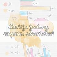 The Life Factory enquête resultaten