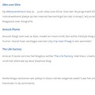 Vermelding Bloggersnetwork