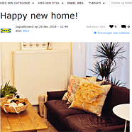 Vermelding IKEAfamily