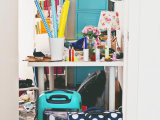 Kamer opruimen voor en na
