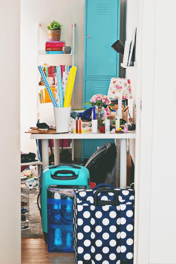to organize: kamer opruimen voor & na
