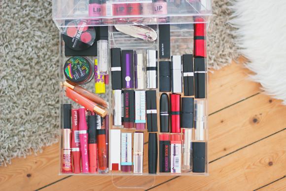 Mijn (nieuw!) make-upopbergsysteem