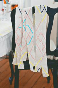 DIY: slinger met stof