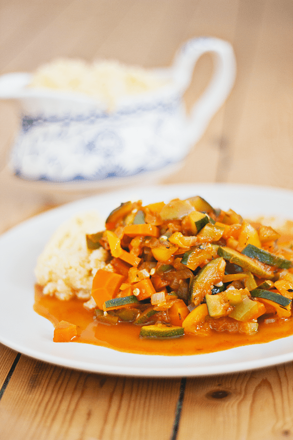 Recept: groentecurry met couscous