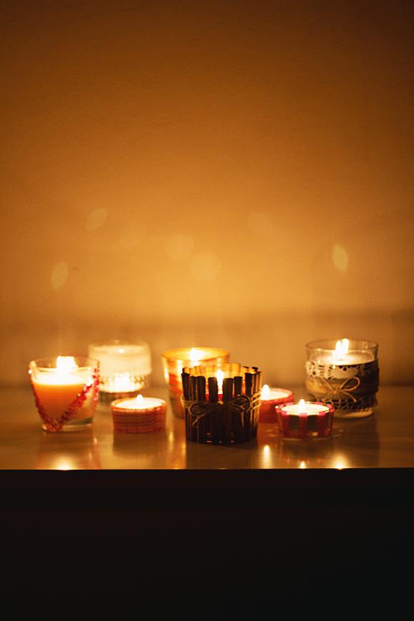 DIY: 6x leuke kaarsen(houders)