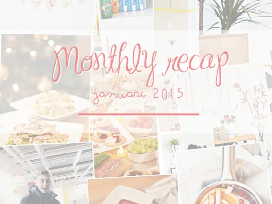 Monthly Recap Januari 2015