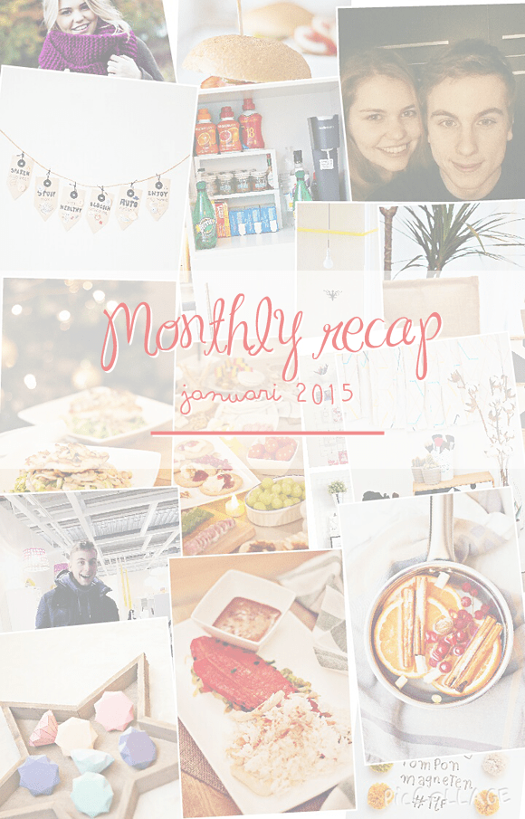 Monthly Recap – januari 2015