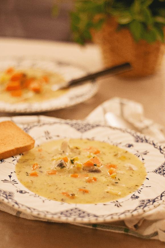 Recept: heerlijke en eenvoudige kippensoep
