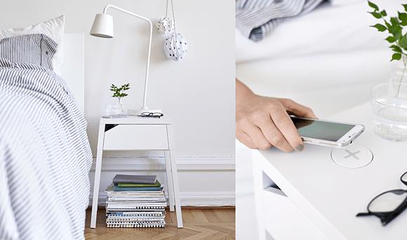 IKEA draadloos opladen