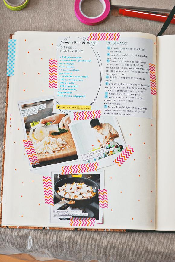 Maak je eigen receptenboek