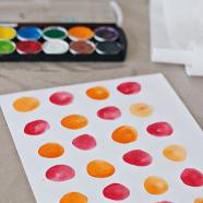 DIY geprinte waterverf kaarten