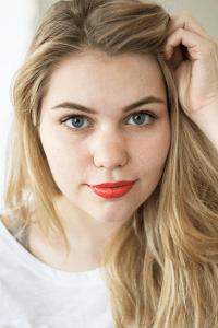Oranje lippen met Gosh
