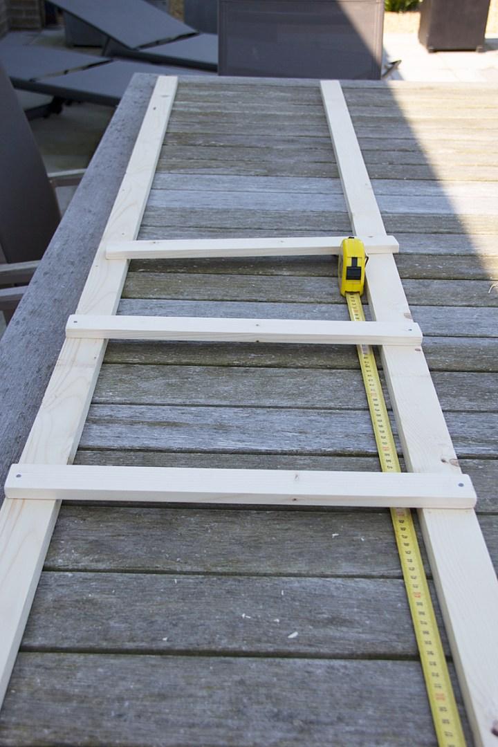 Zalig: maak zelf een ladder