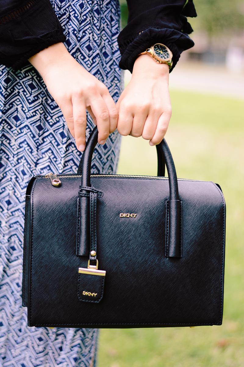 (Back-to-school) outfit met mijn nieuwe DKNY tas