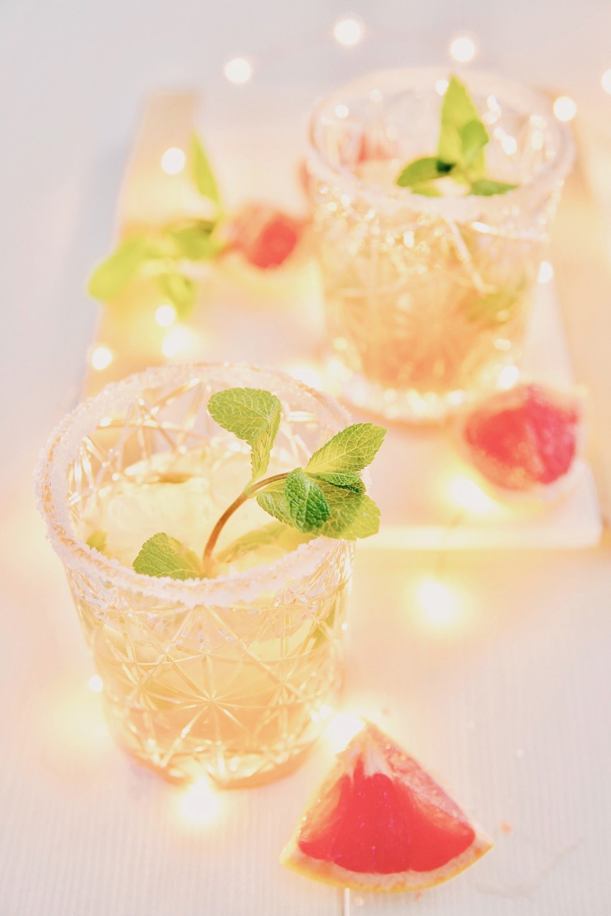 NYE tip: mocktail met grapefruit
