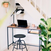 Bureau onder trap make-over