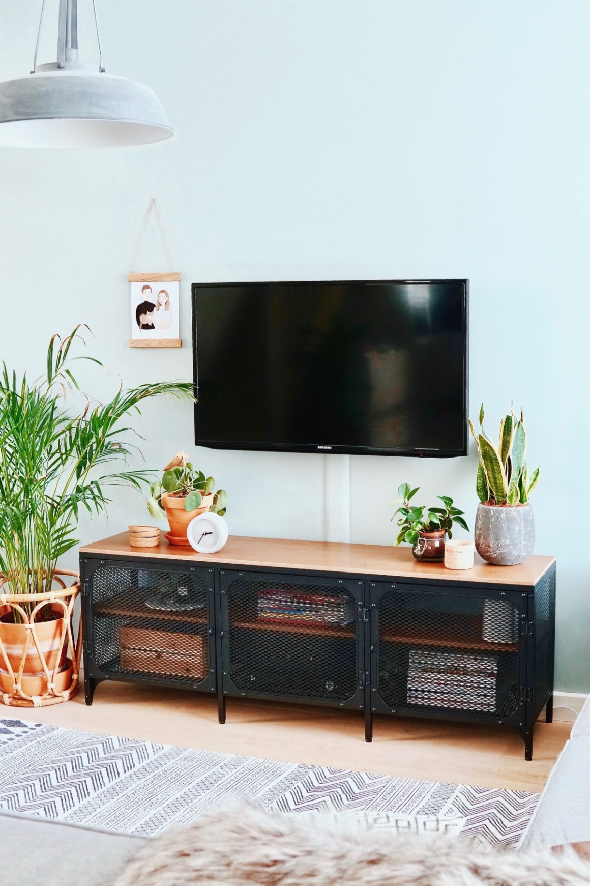 Tv Kast Meubel Ikea.Woonkamer Update Nieuwe Tv Kast Fjallbo The Life Factory