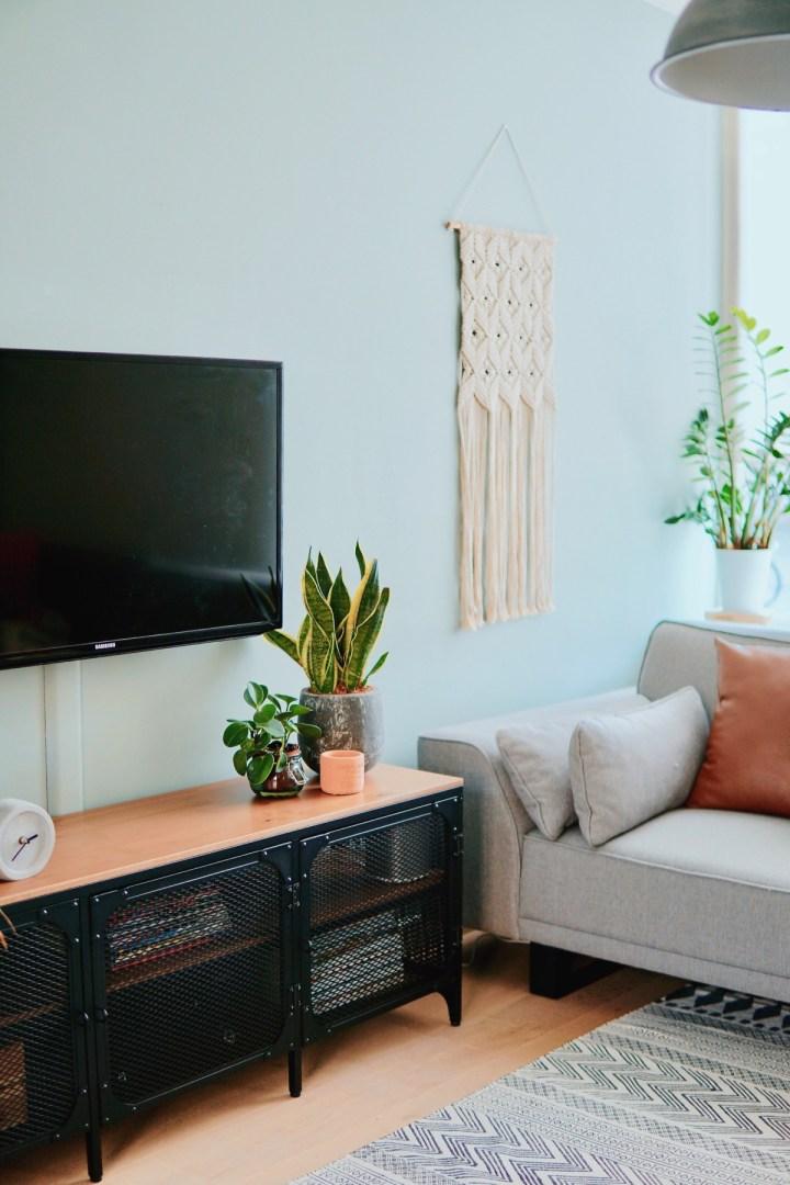 Woonkamer update: nieuwe tv-kast Fjallbö