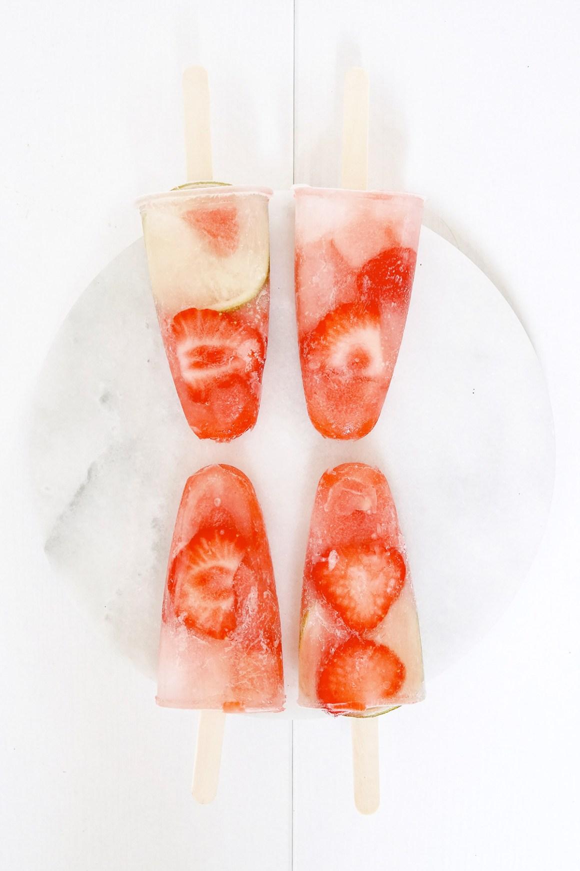0 punten gezond en fruitig waterijsje