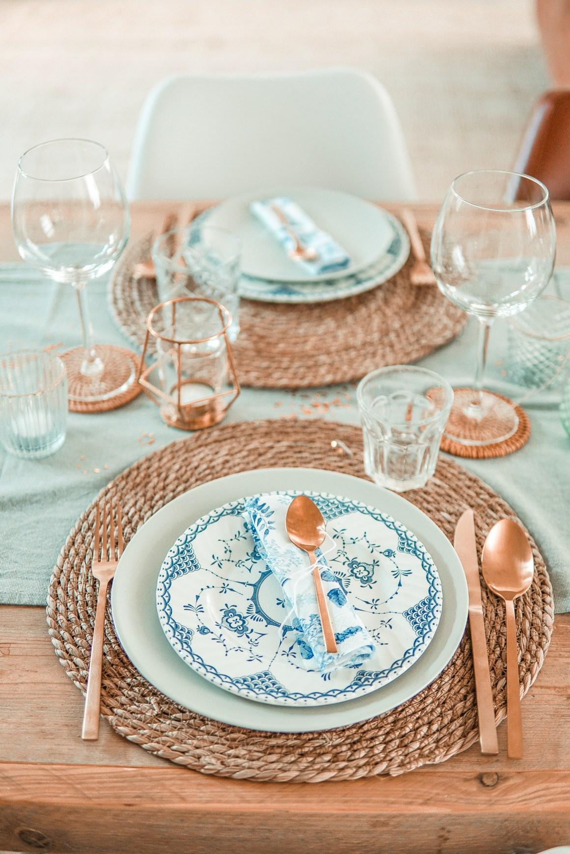 Een Winter Wonderland tafelstyling met Margriet