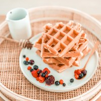 Recept: gezonde, vullende wafels met Griekse yoghurt
