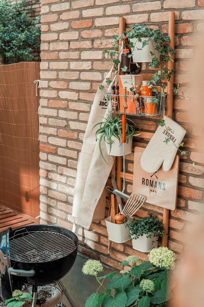 DIY: een ladder voor je BBQ benodigdheden