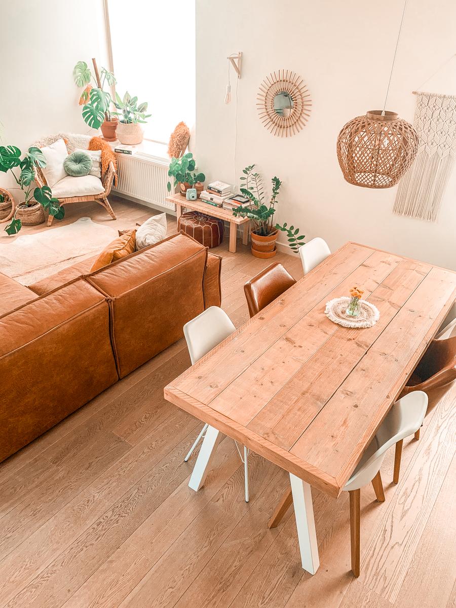 Een goedkope woonkamer make-over met grote impact