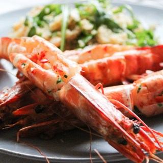 healthy, prawns, seafood, chilli and garlic prawns