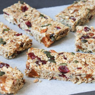 Healthy, Chewy, Muesli Bars