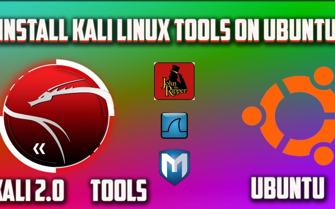 Install Kali Linux Tools Inside Ubuntu Easily