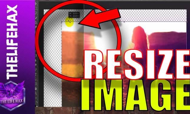 Resize Image In Photoshop CS6 Easily
